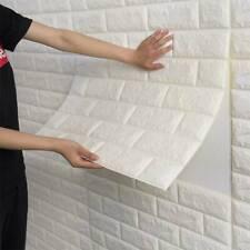 Hot PE DIY Foam 3D Self-Adhesive Panel Wall Sticker Home Decor Embossed Brick