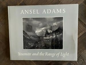 Yosemite and the Range of Light 1979 Ansel Adams SIGNED Hardcover.