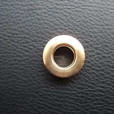 5x heavy duty Brass grommets 7mm  Eyelet Screw Fix For leather DIY