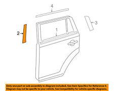 Toyota OEM 2008-2015 Scion xB Exterior Rear Black Out Tape Left 7592612040 NIP