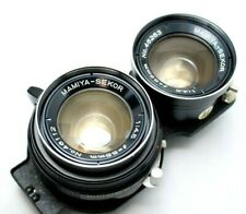Vintage Mamiya Sekor 1: 4.5 55mm For TLR Camera *As Is* #BZ13a
