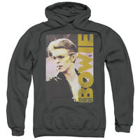 DAVID BOWIE SMOKIN Licensed Adult Hooded and Crewneck Band Sweatshirt SM-3XL