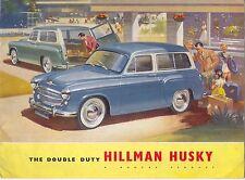 Hillman Husky Original UK Sales Brochure Pub. No. 520/H Mk I c. 1956