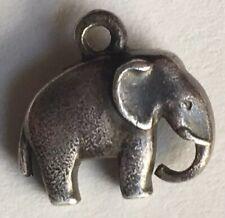 Vintage Sterling Charm Georg Jensen Elephant