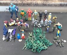 Mixed Lot of 77 DC, Mattel, M.I.,Playmate,Hasbro Figures & Accessories