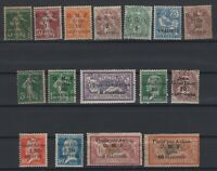 G139004/ FRENCH SYRIA – YEARS 1919 - 1923 MINT MH / MNG – CV 145 $