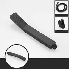 Black Copper Handheld Shower Head Sprayer Water-saving High Pressure Spray Head
