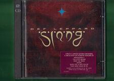 DEF LEPPARD - SLANG LIMITED EDITION DOPPIO CD APERTO NON SIGILLATO