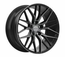 """20"""" INOVIT BLITZ Wheels Black Dark Tint Finish Size 20x8.5 inch Rims PCD 5x120"""