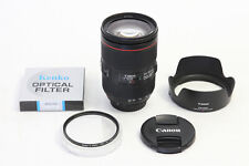 Canon EF 24-105mm f/4 L IS II USM Lens EXCELLENT EOS Digital + BONUS 77mm Filter