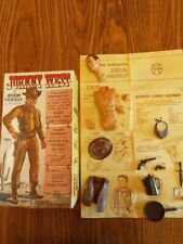 Vintage Marx Original Box, Manual, & Accessories Only for Johnny West