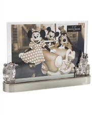 Disney Parks Mickey Mouse Cinderella Castle Metal Photo Picture Frame 4X6 Gift