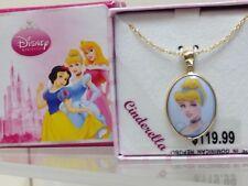 Swarovski Disney Cinderella Pendant Necklace - Nib