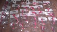 25 X WHITING FLASHER FISHING RIGS 2 X SUICIDE HOOKS 1# 20lb Leader, Swivels Lumo