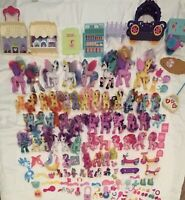 My Little Pony Lot g4 & g1 Brushables & Accessories