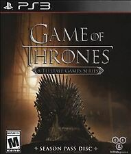 NEW 2015 Game of Thrones A Telltale Games Series Season Pass Disc PS3 Video Game