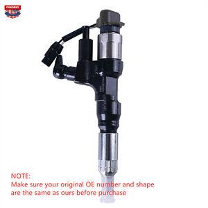 Fuel Injector For Hino J08E Kobelco SK200-8 SK330-8 SK350 Exc323D 095000-6593