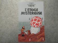 PUZZLE 4 TELECARTES NEUVES - TINTIN - L'ILE MYSTERIEUSE - 500 exemplaires