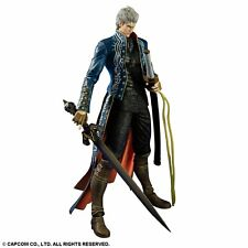 Devil May Cry 3 Play Arts Kai Vergil Figure Square Enix Free Shipping Japan