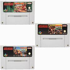 SNES - Donkey Kong Country 1-2-3 Spiel für Super Nintendo