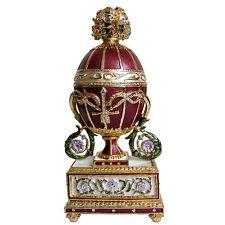 Copie Oeuf Faberge Madonne Lily, oeuf de collection faberge Madonne Lily