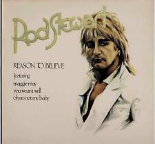 ROD STEWART ~ REASON TO BELIEVE ~ 1978 UK 14-TRACK LP ~ ST MICHAEL 2102/0102