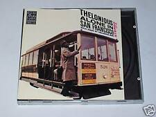 CD - THELONIOUS MONK - ALONE IN SAN FRANCISCO Riverside