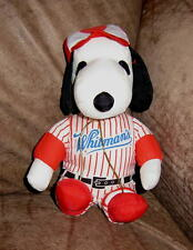 WHITMAN'S Soft Washable SNOOPY Peanuts TOY Baseball Heart Spring Sports