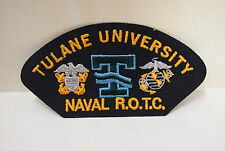 2 Tulane University Naval ROTC patches patch R.O.T.C. memorabillia New