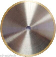 """6"""" x .020"""" Supreme Sintered Continuous Rim Diamond Lapidary Blade - 1/2"""" Arbor"""