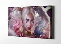 Harley Quinn Framed Canvas Print