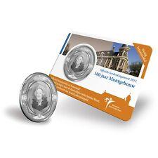 Nederland 5 euro 2011 muntgebouw in Coincard