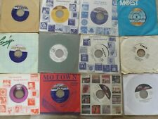 """A COLLECTION - JOB LOT OF 12 X MOTOWN / GORDY / SOUL USA ORIG 7"""" SINGLES :EX"""