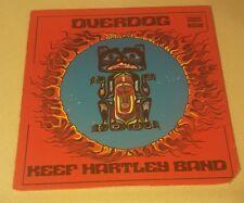 KEEF HARTLEY BAND - OVERDOG LP RECORD EX VINYL DES 18057
