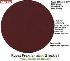 Rupes 125mm X-CUT Foam Abrasive Disc /Pad 3000 Grit Velcro® - 5 Discs