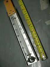 AIRGUIDE  CHICAGO USA    CANDY  THERMOMETER  50  - 300 SS   NICE CONDITION