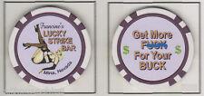 Francine's Lucky Strike NEVDA Legal Whore house colletors bordello Cathouse chip