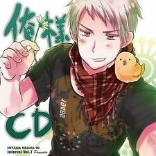 USED Japan Anime Hetalia Axis Powers Prussia Drama Cd Interval 1. CD