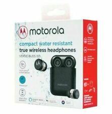 Motorola Verve Buds 110 Brand New Blk Bluetooth Earbuds Wireless &Charging Base