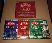 V/A * THE FIRE & FURY STORY * 3 X CD BOXSET (SNAJ 730 CD) NR MINT & BOOKLET