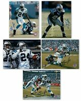 Ricky Manning Jr. Signed 8X10 Photo Autograph Panthers Auto w/COA - 5 Different