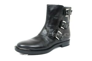 Womens ENZO ANGIOLINI Black Leather Ankle Boots Sz. 6 M