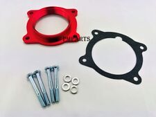 Red Billet Throttle Body Spacer fit 08-13 GMC Acadia Chevy Malibu Traverse 3.6L