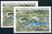 Bund Block 7 gestempelt (2 Stück) ETST Bonn BRD 723 - 726 Olympische Spiele used