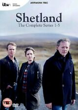 Shetland: The Complete Series 1 -5 (DVD, 2019, Set of 8 Discs)