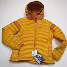 LL Bean Girls 800 Fill Down Jacket Youth Size 10 - Asian Small US XXS NEW Yellow