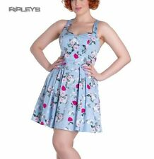 Hell Bunny Party Short Sleeve Floral Dresses for Women