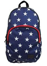 Vans Off The Wall Schooling Backpack Bag - Blue/White Star