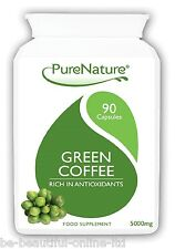 90 Green Coffee Bean 15000mg Daily Fat Burner Diet Slimming Pills FREE Diet Plan