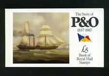 1987 Dx8 P. & O. Prestige booklet - No Stamps
